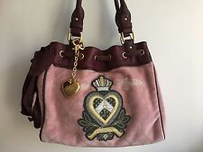 Juicy Couture Velour Daydreamer Satchel Bag