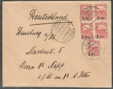 Estonia 1920  Cover to Germany with Mi 19(5)