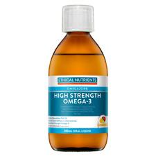 Ethical Nutrients Liquid Fish Oil Fruit 280ml Cincotta Chemist