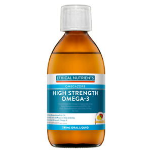 Ethical Nutrients High Strength Omega-3 280mL Oral Liquid Fruit Punch OMEGAZORB