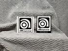 Ampeg Amplifiers 2 Sticker Set<>ORIGINAL<>GENUINE