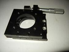 Newport 425 Precision Linear Translation Stage With Starrett 263 Micrometer