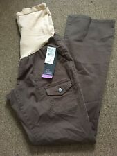 Oh Baby By Motherhood Secret Fit Belly Boot Cut Long Pants Sz M NWT