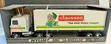 Nylint Vintage Rare  Claussen Trailer Truck In original box!
