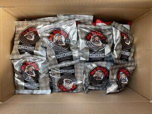 Mr Porky Pork Scratchings x 40 Bag Mega Box Bargain. Free p&p.