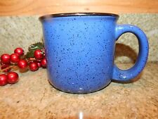 Marlboro Unlimited Blue With Black Speckles Large Soup Coffee Mug Cup Collector