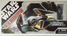 Star Wars 30th Anniversary Elite Tie Interceptor NEW & Sealed!!