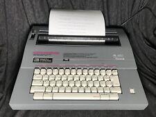 Smith Corona SL480 5A Typewriter Electric Portable H Type Cartridge Case WORKING