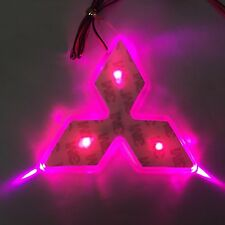LED Car Tail Logo Purple light Auto Badge Light for Mitsubishi Lancer EX Outland