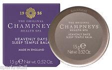 Champneys Spa As-Good-As-New Heavenly Days Sleep TEMPLE BALM Calming Salve 15g