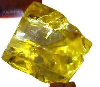Lemon Zircon Gemstone Cambodian Rough 443.20 Ct Natural IGL Certified B5943