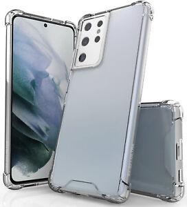 AquaFlex Transparent Anti-Shock Clear Case Cover for Samsung Galaxy S21 Ultra 5G