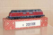MARKLIN MäRKLIN 3021 S DB CLASS BR V200 006 DIESEL LOCOMOTIVE 1957 BOXED nl