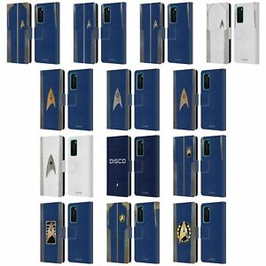 STAR TREK DISCOVERY UNIFORMS LEATHER BOOK WALLET CASE COVER FOR HUAWEI PHONES