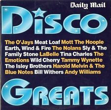 VARIOUS ARTISTS - DISCO GREATS, Daily Mail CD