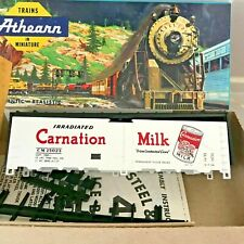 HO Athearn Carnation Refrigerator Car Carnation Milk 25003 Vintage Kit #1602 NIB