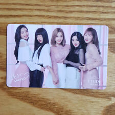 Group Red Velvet Etude House Life is Sweet Lip Lacque Promotion Photocard