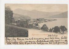Tegernsee v d Wacht 1899 U/B Postcard Germany 636a