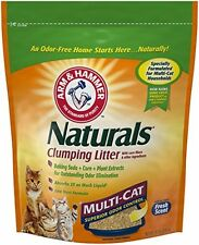 Arm and Hammer Naturals, Multi-Cat Litter, 18 Lbs