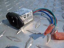 Lot of 50 Corcom 6ED8 EMI Filter 6A/40/250V 50-60Hz  Connector 3-Pin f7539 1102r