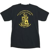 The Buffalo Soldiers Vtg 50/50 Tee T Shirt Mens L Black 9th 10th Horse Calvalry