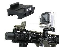 TacFire Rifle Shotgun Pistol Picatinny/Weaver Mount for the GoPro 1,2,3,4 Camera