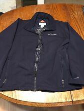 Columbia OMNI HEAT WIND BLOCK Softshell Jacket Men's Blue  L