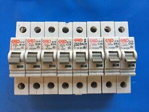 GARO  MCB Miniature Circuit Breaker  10 20 32 40 63  Amp A Type B C
