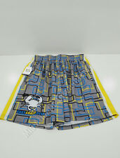 East Coast Dyes Square Shorts Lacrosse Y-M Gray Blue Yellow Black Youth Medium