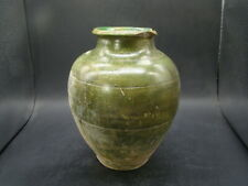 Chinese Tang dynasty (618-907) nice green glazed vase a1299
