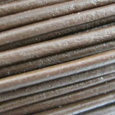 Handmade Leather Cord - Necklaces, Bracelets, Beading - 1.5mm Brown (5 Meters)