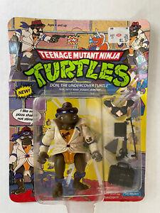 Teenage Mutant Ninja Turtles TMNT Don The Undercover Turtle 1990 - Sealed In Box