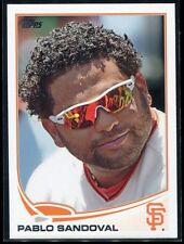 2013 Topps 456b Pablo Sandoval Sunglasses SP Photo Variation
