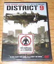 District 9 (DVD, 2009) Peter Jackson Presents A Film By Neill Blomkamp NEW