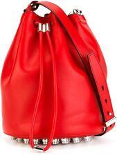 Alexander Wang Diego Bucket Bag Red