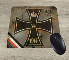 Iron Cross WW1 German Patriotic Mouse Pad vintage design 1914-1918