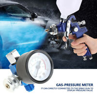 """1/4""""Luftdruckregler Regelventil Manometer Kompressor 0-10BAR für Spritzpistole"""