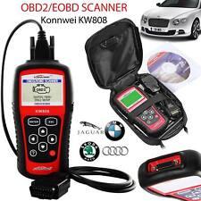 KW808 Car Scanner Tool OBD2 EOBD Automotive Diagnostic Engine Fault Code Reader
