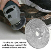 Wood Tungsten Carbide Grinding Sanding Carving Shaping Disc Angle Grinder