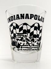 New listing Indianapolis, Indiana Shot Glass Race Car Checker Flag