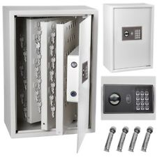 245 Hook Key Cabinet With Digital Lock Wall Mounted Safe Security Storage Box
