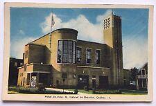 Vintage Postcard Hotel de Ville St. Gabriel de Brandon Quebec (P E Co.)