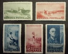 ROMANIA-RUMUNIA STAMPS MNH - Birth of Nicolae Ion Grigoresku - Paintings,1938,**