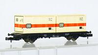 Fleischmann 8234 N  Container-Tragwagen der DB mit DB Container  OVP #2