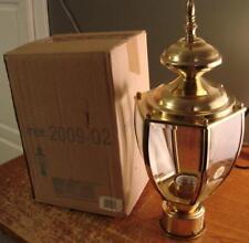 Livex 2009-002 Brass Pole Lamp BRAND NEW