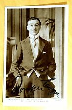 JOSEPH COYNE Signed Photo Postcard rppc Vaudeville Comedy Actor Autograph c.1910