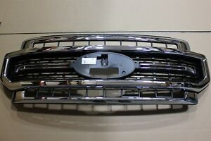 OEM Factory 20-21 Ford SUPER DUTY TRUCK Front GRILLE Bumper Cover Chrome Grill