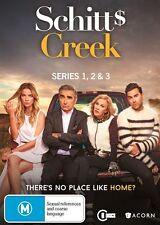 Schitt's Creek : Season 1-3 DVD, 2017, 6-Disc Set TV EUGENE LEVY CATHERINE OHARA