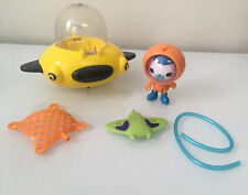 Octonauts GUP-D Bath Toy & Captain Barnacles Figure Fisher-Price Complete