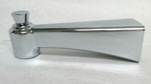 """Kohler 1065334-CP Archer 5/8"""" O.D. Copper Slip-on Diverter Tub Spout, Chrome"""